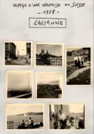 Voyage D´une Nantaise En SUISSE - 1958 - LAUSANNE - WW Coccinelle - Lieux