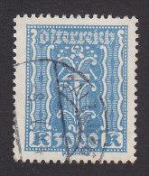 Austria, Scott #286, Used, Symbols Of Industry, Issued 1922 - 1918-1945 1a Repubblica