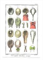 CPM  PERRUQUIER BARBIER   ENCYCLOPEDIE  DIDEROT  ET D'ALEMBERT ECRITE   2004 - Postcards
