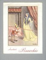 PINOCCHIO...SU FOGLIO DI CARTA ASSORBENTE..FIRMATO SGRILLI - Cinéma & Théatre