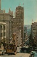 THE POWELL STREET CABLE CAR SAN FRANCISCO 1966 - San Francisco