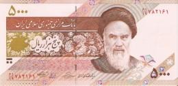 BILLETE DE IRAN DE 5000 RIALS   (BANKNOTE) SIN CIRCULAR-UNCIRCULATED - Irán