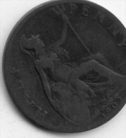 Great Britain Half Penny 1902 - 1902-1971: Postviktorianische Münzen