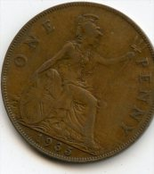 Great Britain Penny 1935 - D. 1 Penny