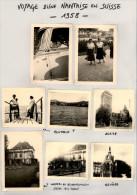 Voyage D´une Nantaise En SUISSE - 1958 - Montreux - Genève - Stein Am Rhein - Zurich - Lieux