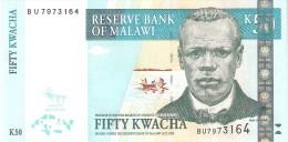 BILLETE DE MALAWI DE 50 KWACHA DEL AÑO 2011 (BANKNOTE) SIN CIRCULAR-UNCIRCULATED - Malawi