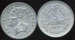 FRANCE  5 Francs 1948    Lavrillier   ( 9 Ouvert   ) - France