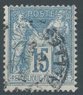 Lot N°26278    N°101, Oblit Cachet à Date A Déchiffrer - 1876-1898 Sage (Type II)