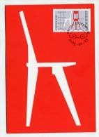 SWEDEN - AK206117 MC No.268 Swedish Design - Chair & Shelving - Maximumkarten (MC)