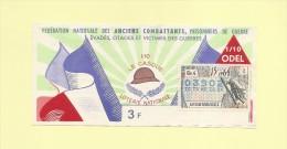 Billet De Loterie Nationale - Le Casque - Anciens Combattants - 1964 - Billets De Loterie