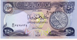 Iraq p.91b 250 dinars 2012   unc