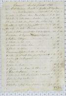 Grellet à Saumur En 1842 - Petits Métiers
