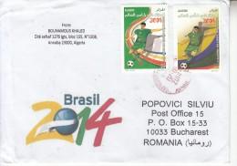 FOOTBALL / SOCCER : WORLD CUP 2014 BRAZIL On 3 Circulated Covers - Envoi Enregistre! Registered Shipping! - Coppa Del Mondo