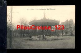 """59 Nord -  LILLE - """" L'Esplanade - Le Kiosque """" - Lille"""