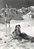 LA CATENA DEL TERMINIELLO DA SELLA DI LEONE. BELLA CARTOLINA DEL 1963 - Italia