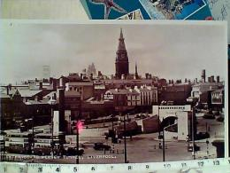 ENGLAND LIVERPOOL ENTRANCE TO MERSEY TUNNEL AUTO AUTOBUS  TRAM  N1932 EM8791 - Liverpool