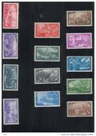 "ASTA LIBERA - Italia - 1948 - serie completa ""Risorgimento"" ** Sass. 580-591 + E32"