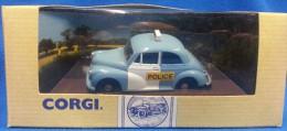 Corgi Classic 1:43 POLICE - MORRIS MINOR SALOON - MERTHYR TYDFIL 96759 - Altre Collezioni