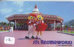 REOMA WORLD - Peddy Bird And Polly Bird (12) - Télécarte Japon - BD Comics Japan Phonecard Telefonkarte - BD