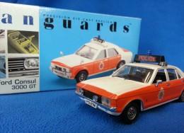 VANGUARDS 1:43 POLICE - LANCASHIRE CONSTABULARY - FORD CONSUL 3000 GT VA55000 - Altre Collezioni
