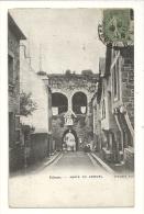 Cp, 22, Dinan, Porte De Jerzual, Voyagée 1919 - Dinan