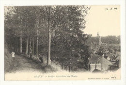 Cp, 27, Bernay, Sentier Descendant Des Monts, Voyagée 1904 - Bernay