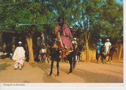 (NIGE1) NIGERIA. TRUMPETER ON HORSEBACK - Nigeria