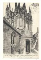 Cp,50, Le Mont Saint-Michel, Abbaye, Abside De L'Eglise, Voyagée 1922 - Le Mont Saint Michel