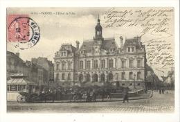Cp, 56, Vannes, L'Hôtel De Ville, Voyagée 1906 ? - Vannes