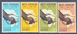 GUINEA  305-8    **   AFRICAN  UNITY - Guinea (1958-...)