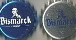 2 Furst F�rst Bismarck Wasser Kronkorken 2013 soda water bottle crown caps chapas gaseosa tappo tappi