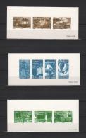 """3 Gravures Officielles De 2007 N° YT 4094 à  4103 ( = BF 113 ) """" LA FRANCE A VIVRE 2007 """" En PARFAIT état. - Documenten Van De Post"""