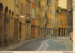STRADE DI BOLOGNA VIA SARAGOZZA BOLOGNA 1980 - Bologna
