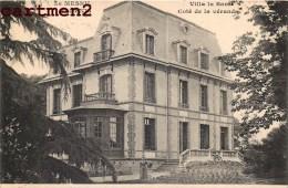 LE MESNIL-SAINT-DENIS VILLA DE SANTE COTE DE LA VERANDA ENVOI A PUYHAUBERT 133 RUE BROCA PARIS - Le Mesnil Saint Denis