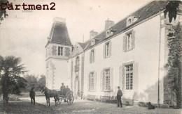 LESSAC PRES DE GUERANDE CHATEAU  ANIME ATTELAGE 44 - Francia