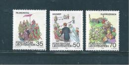 Liechtenstein Timbres De 1986  N°840  A  842   Neufs ** - Liechtenstein