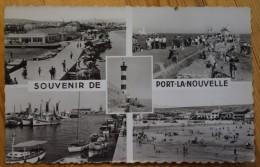 11 : Souvenir De Port-la-Nouvelle - Phare , Port , Plage ... Multivues / Multi Vues / Multivue  - (n°2487) - Port La Nouvelle