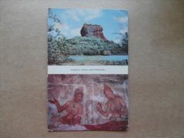37017 PC: SRI LANCA (CEYLON): Sigiriya Rock And Frescoes. - Sri Lanka (Ceylon)