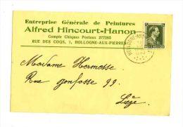 HOLLOGNE AUX PIERRE / Grâce-Hollogne / Guerre 40/45 HINCOURT ALFRED - Grâce-Hollogne