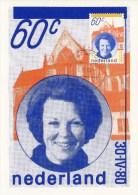 Maximumkaart NVPH Nr. 1200 (1980, Inhuldiging Koningin Beatrix) - Cartoline Maximum