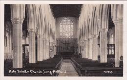 LONG MELFORD - HOLY TRINITY CHURCH INTERIOR