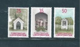 Liechtenstein Timbres De 1988  N°892  A  894   Neufs ** - Liechtenstein