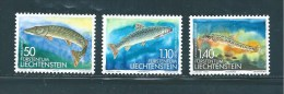 Liechtenstein Timbres De 1989  N°905  A  907   Neufs ** - Liechtenstein
