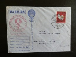 44/614  LETTRE   ALLEMAGNE - Airships