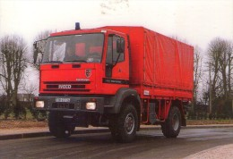 Pompiers.. Sapeurs-Pompiers.. Ivéco - Eurocargo 4x4 Pionnier.. Camion De Pompiers.. Nogent-le Rotrou - Sapeurs-Pompiers
