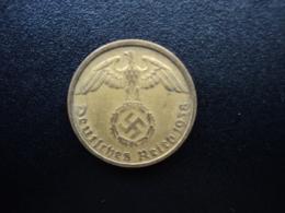 ALLEMAGNE : 10 REICHSPFENNIG  1938 J  KM 92    TTB+ / VF+