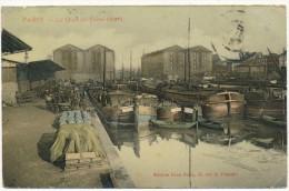 PARIS  XIX ° - Le Quai De Seine, Canal Saint Martin - Arrondissement: 19
