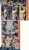 4 Maximumkaarten NVPH Nr. 1232 T/m 1235 (1981, Kinderzegels) - Maximum Cards