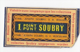 POINT SOUBRY VALABLE - Vieux Papiers