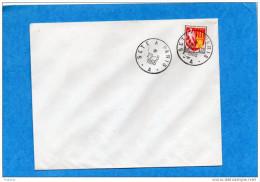 MARCOPHILIE-lettre  Cachet SETE A PARIS -A--Cad 1966 - Railway Post
